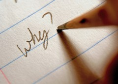 Pencil writing on paper - why?