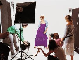Fashion photo shoot