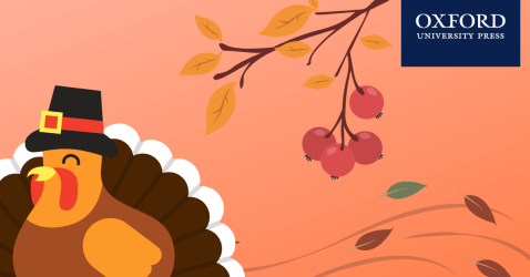 Thanksgiving Turkey with OUP logo