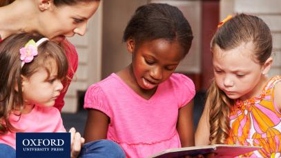 children reading graded readers