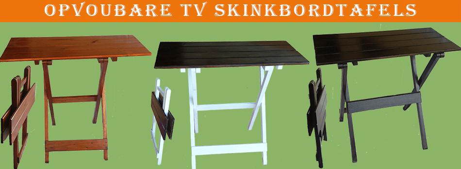 opvoubare TV skinkbordtafel