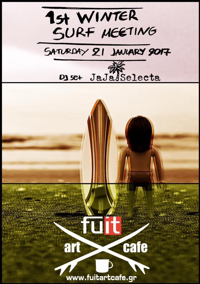 1st winter surf meeting@ Fuit art cafe στα Γρεβενά το Σάββατο 21 Ιανουαρίου