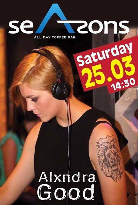 Alxndra Good @ Seasons bar στα Γρεβενά, την Παρασκευή 25 Μαρτίου