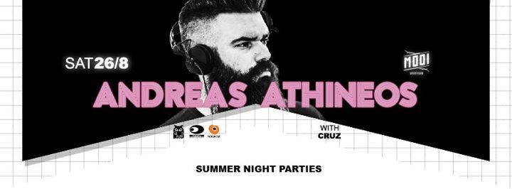 O Andreas Athineos @ Mooi bar στην Κοζάνη, το Σάββατο 26 Αυγούστου