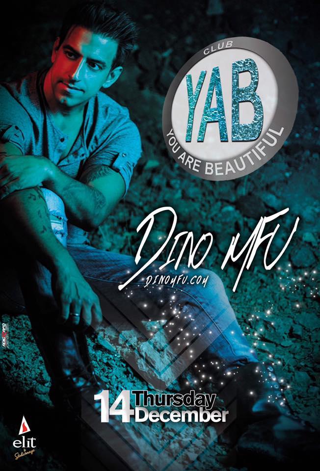 DINO MFU @ YAB club στην Φλώρινα, την Πέμπτη 14 Δεκεμβρίου