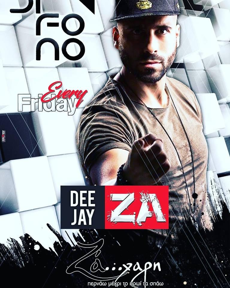 DJ ZA στο bar Difono στην Πτολεμαΐδα, την Παρασκευή 19 Οκτωβρίου