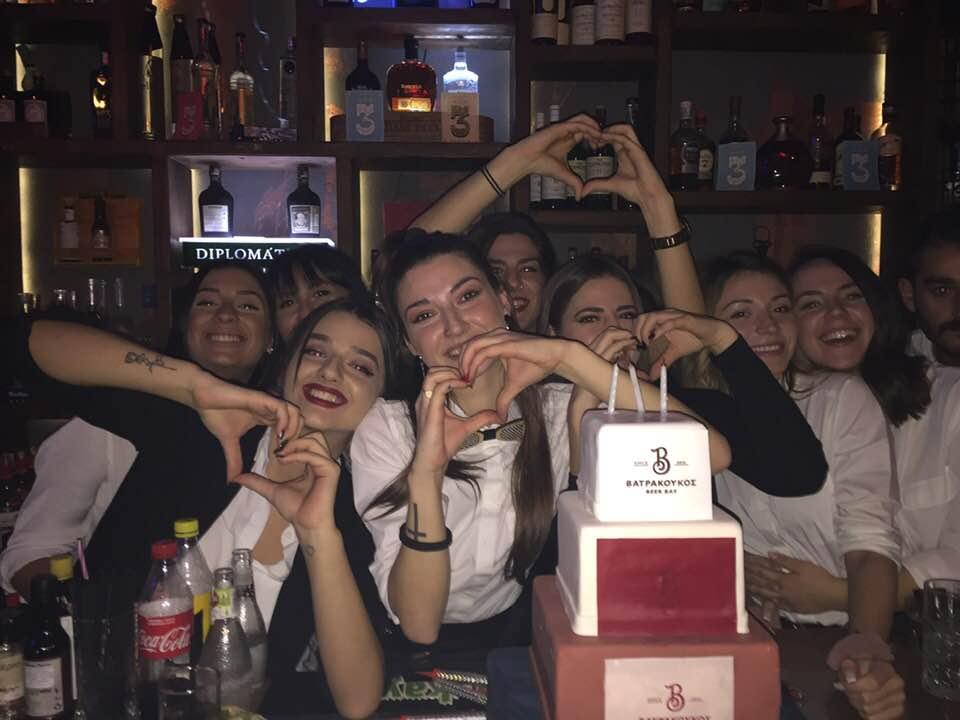 3 χρόνια λειτουργίας γιόρτασε το beer bar Βατρα κουκος στην Κοζάνη, το βράδυ της Τετάρτης 14 Νοεμβρίου