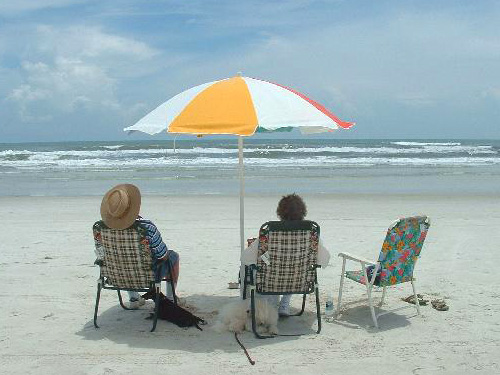 Couple at St Augustine Beach