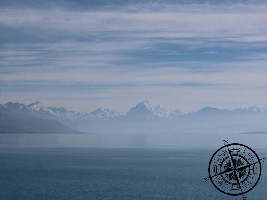 Mt. Cook in der Ferne :)