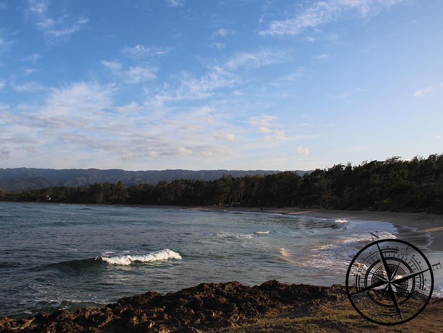 Der Strand vom Malaekahana Campground