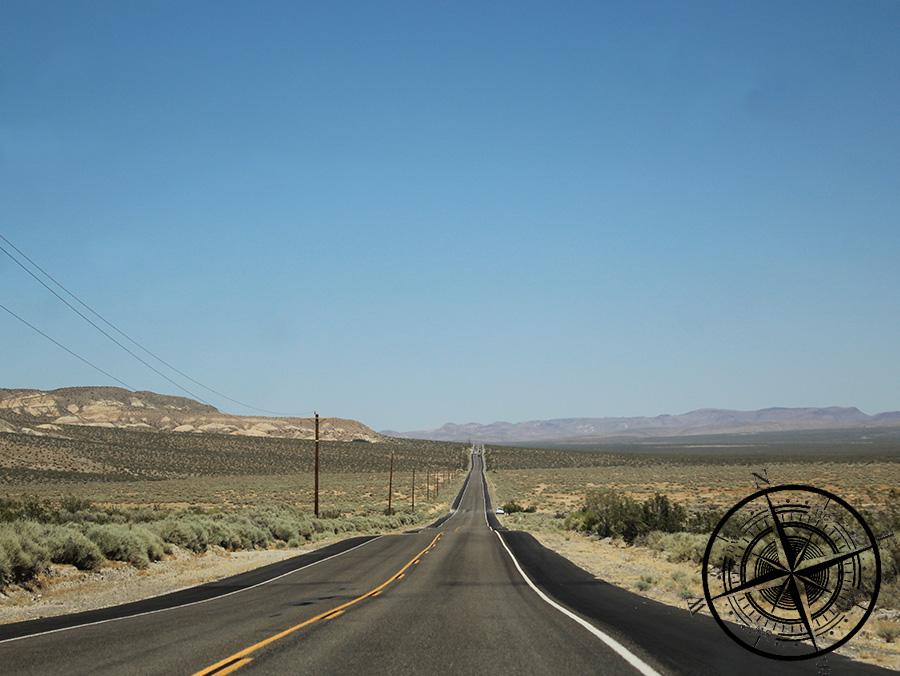"""Eine typische Aussicht im """"Death Valley"""" :D"""