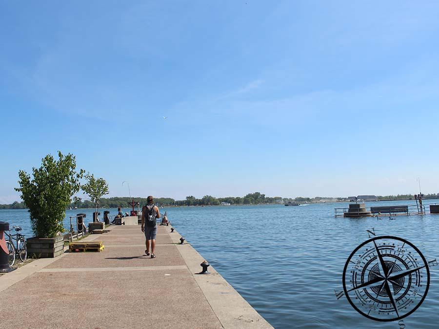 Die Waterfront hat uns ein wenig an Hamburg erinnert <3