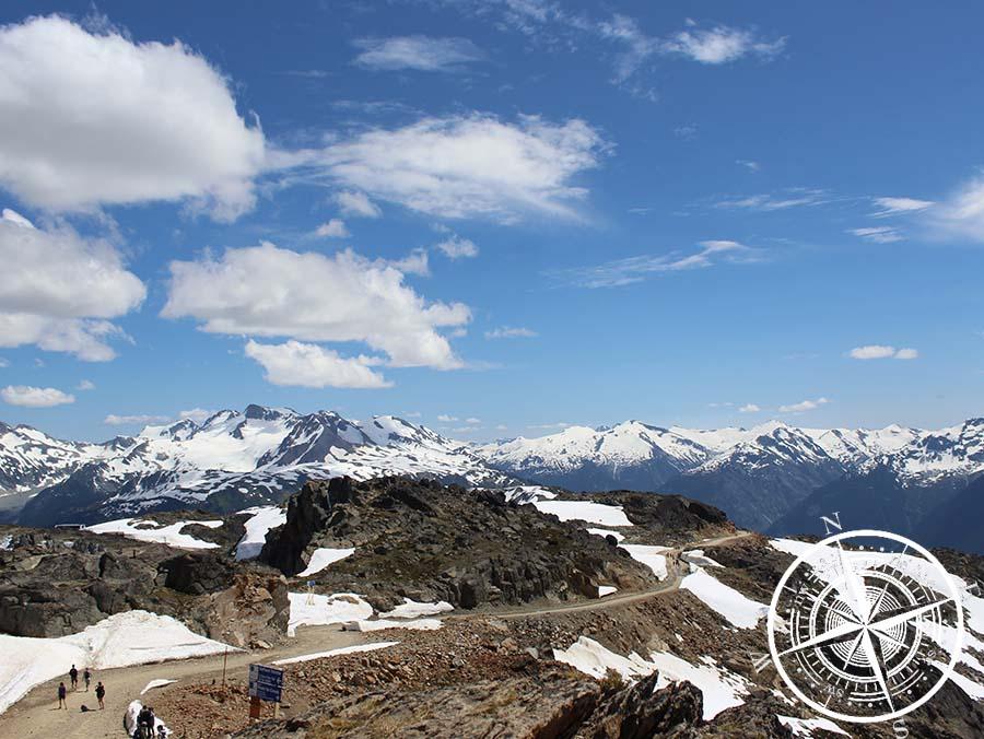 """""""Whistler Mountain Summit"""" auf  2182m Höhe"""
