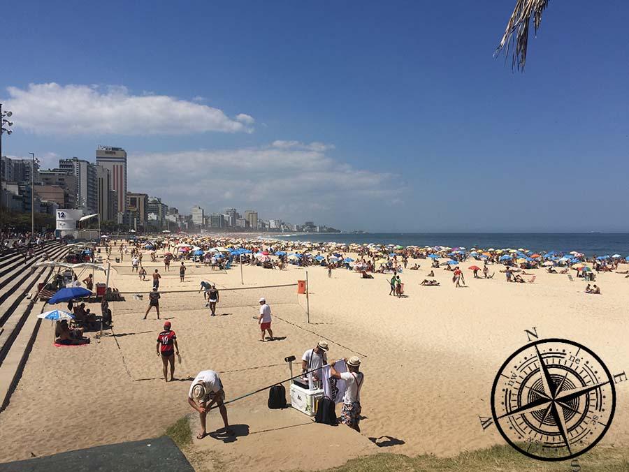 ...der Ipanema Strand