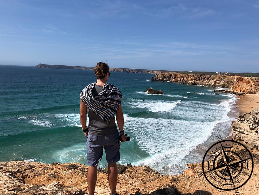 "Ausblick auf ""Praia do Tonel"""