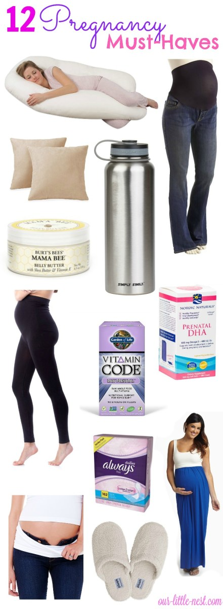 12 Pregnancy Must-Haves