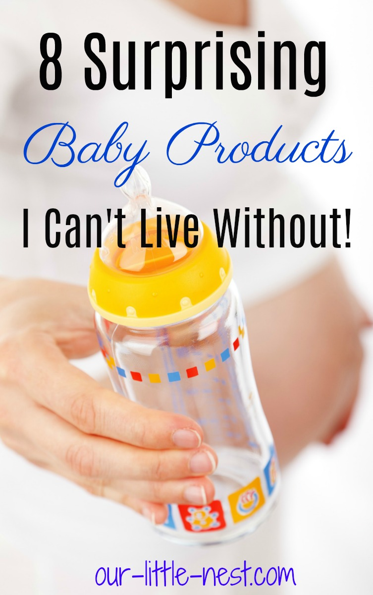 8 Surprising Baby Products I Can't Live Without!
