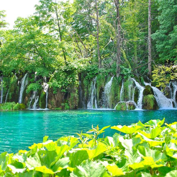 Unglaubliche Natur an den Plitvicer Seen in Kroatien