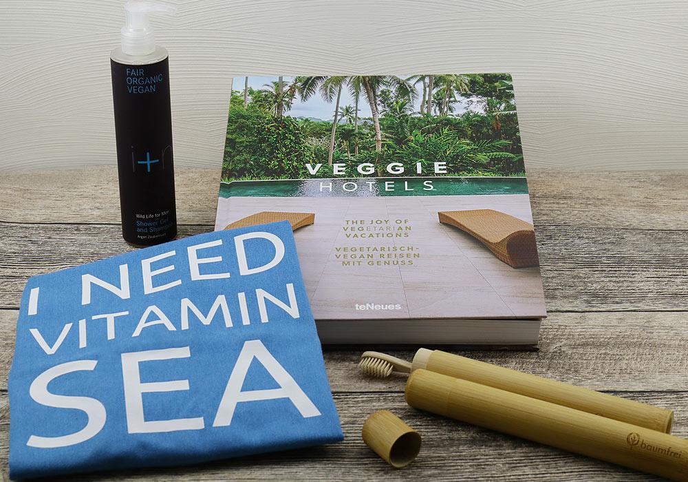 Gewinne eine Vegan Reisen Box