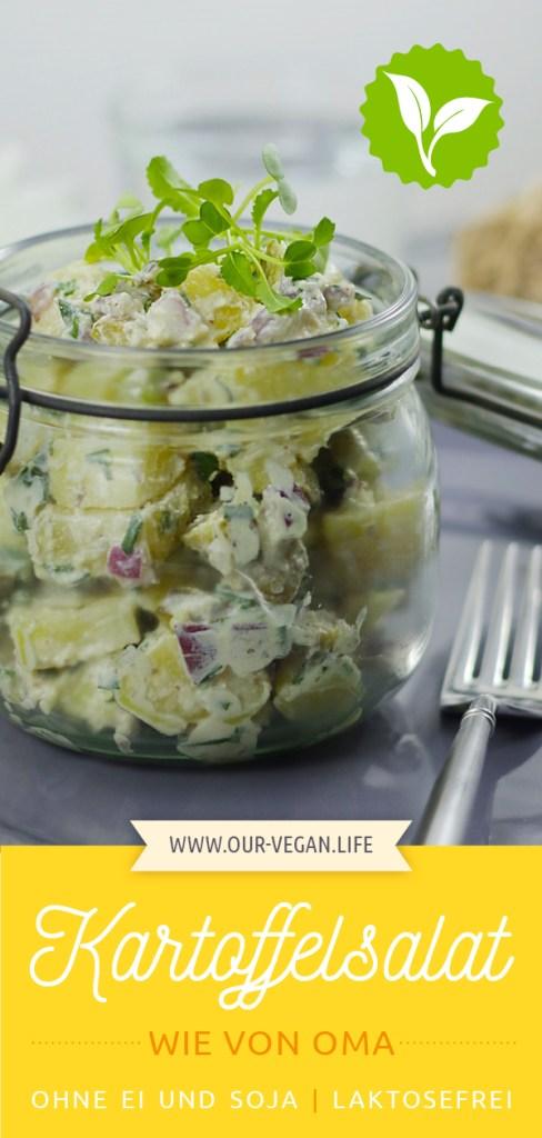 Pinterest Pin Rezept Kartoffelsalat vegan