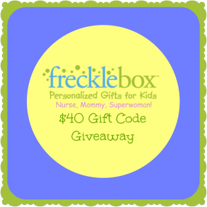 FreckleBox Gift Code Giveaway