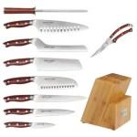 Ergo Chef Exclusive Crimson G10 10 Piece Cutlery Set Giveaway