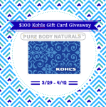 What Would You Do With A $100 Kohl's Gift Card? Enter For A Chance At Winning One