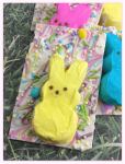 Easy Easter Peeps White Chocolate Bark