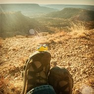 March 2013 - Palo Duro Canyon for his birthday. (2013)