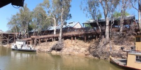 The wharf at the Port of Echuca