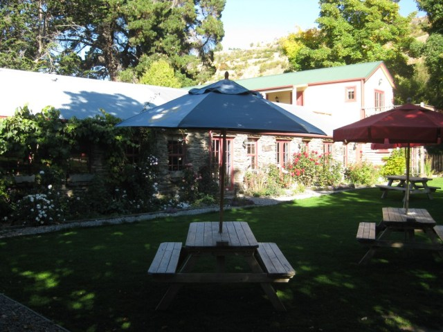 Grounds of the Cardrona Hotel, Cardrona