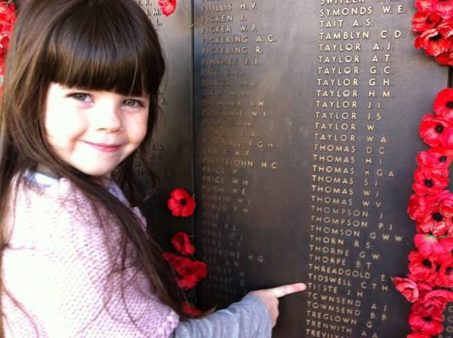 The Wall of Honour - Australia War Memorial, Canberaa
