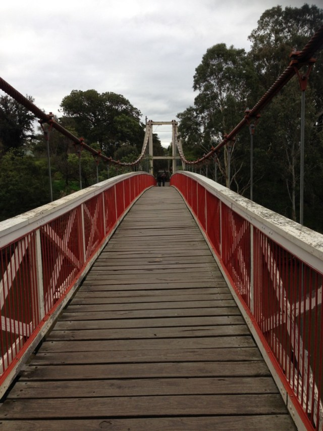 Kane Bridge over the Yarra