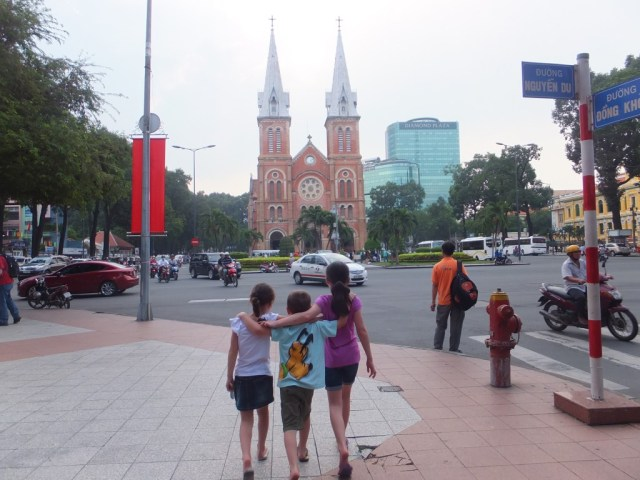 Notre Dame Cathedral, HCMC.