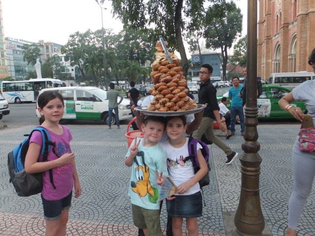 The delicious nutty donuts, we loved them the kids not so much!