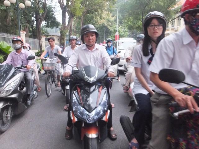 Traffic HCMC