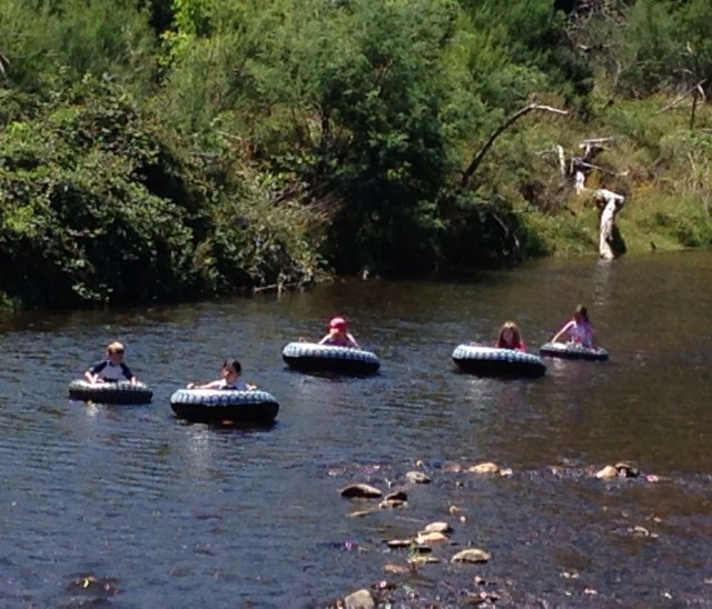 Tubing on the Ovens River