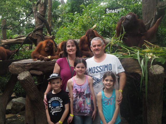 Breakfast with the Orangutans, Singapore Zoo