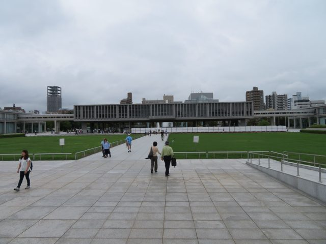 The Hiroshima Peace Memorial Museum, allow a good couple of hours to explore this museum.