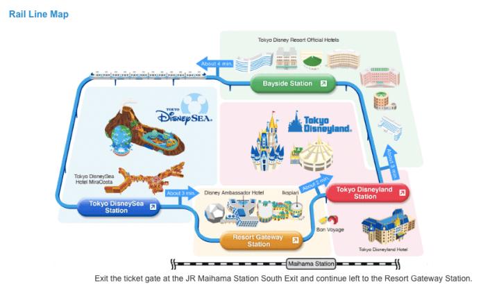 Source: www.tokyodisneyresort.jp - Tokyo Disney Resort monorail