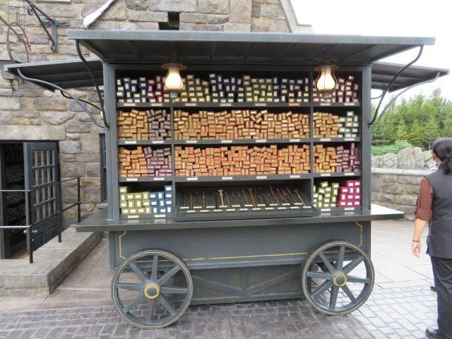Ollivanders Wagon