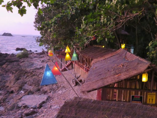 The Reggae Bar which faces the ocean for the same amazing sunsets as our plunge pool!