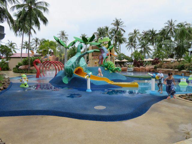 The kids Splash Zone at the Horizon Pool.