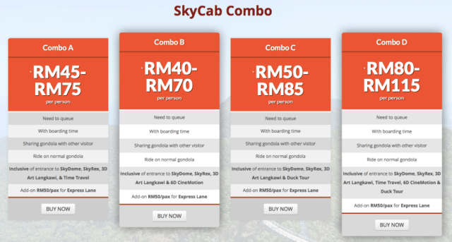 Skycab combo