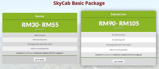 basic package skycab