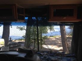 View of Lake Fryer