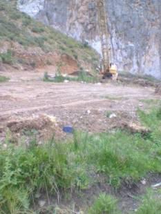 Μπάζωμα σε βάρος υγροτόπου στο Κρυονέρι (1)