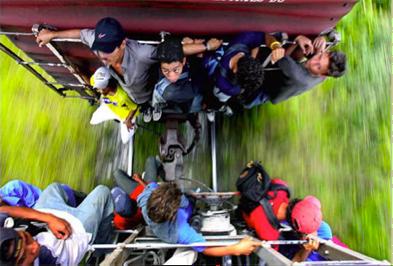 train pic of immigrants