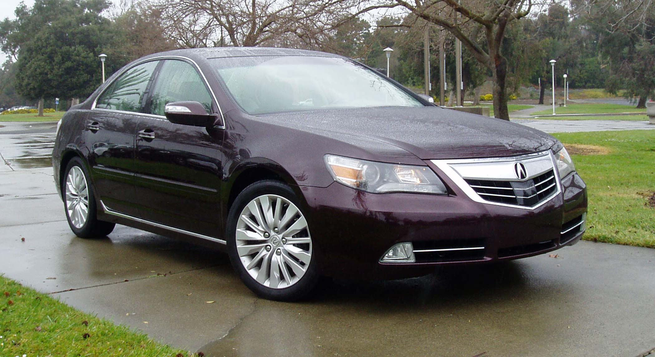 test drive 2011 acura rl tech our auto expert