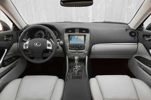 Good Lexus IS 250 Interior